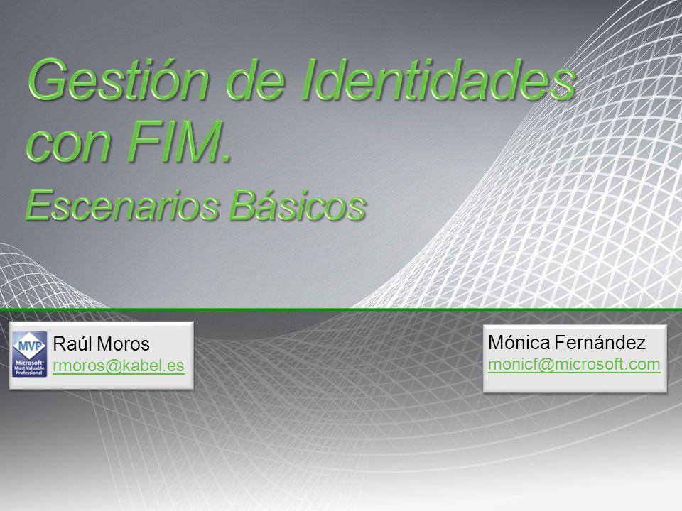 Gestión de Identidades con FIM.