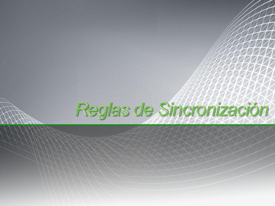 Reglas de Sincronización