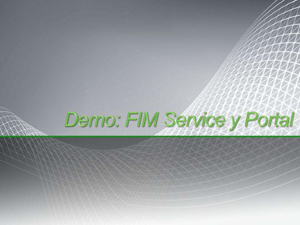Demo: FIM Service y Portal