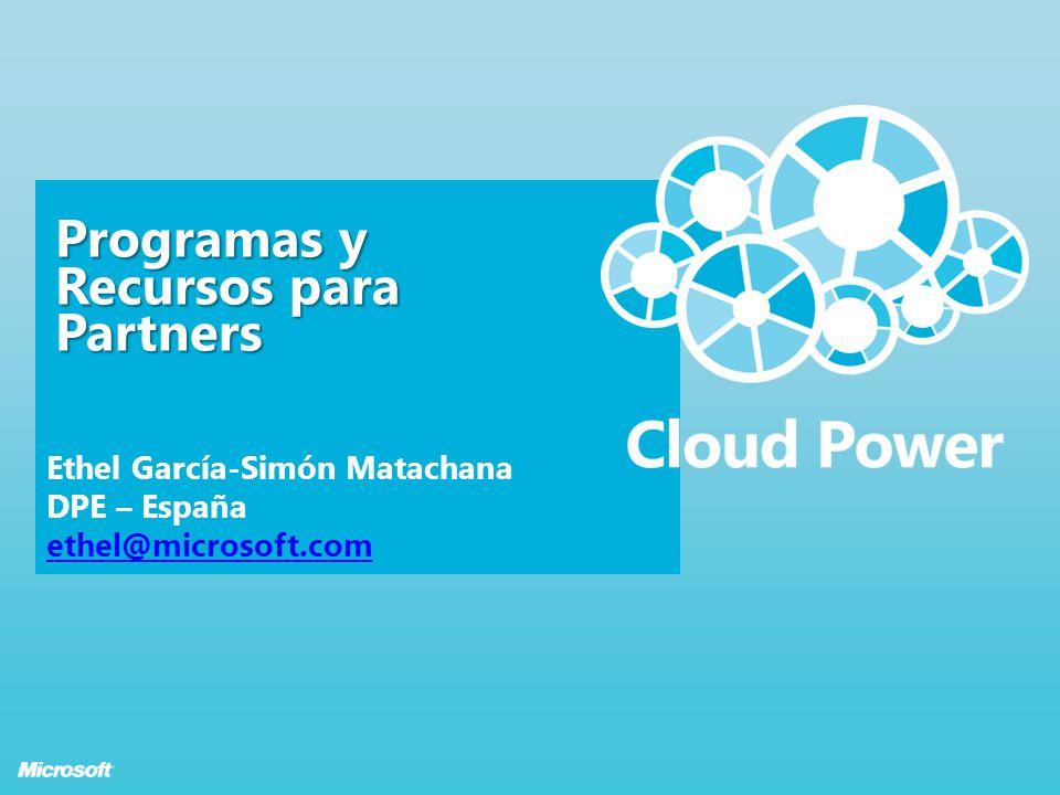 Programas y Recursos para Partners