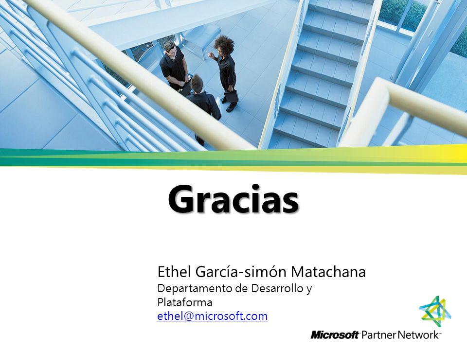 Gracias Ethel García-simón Matachana