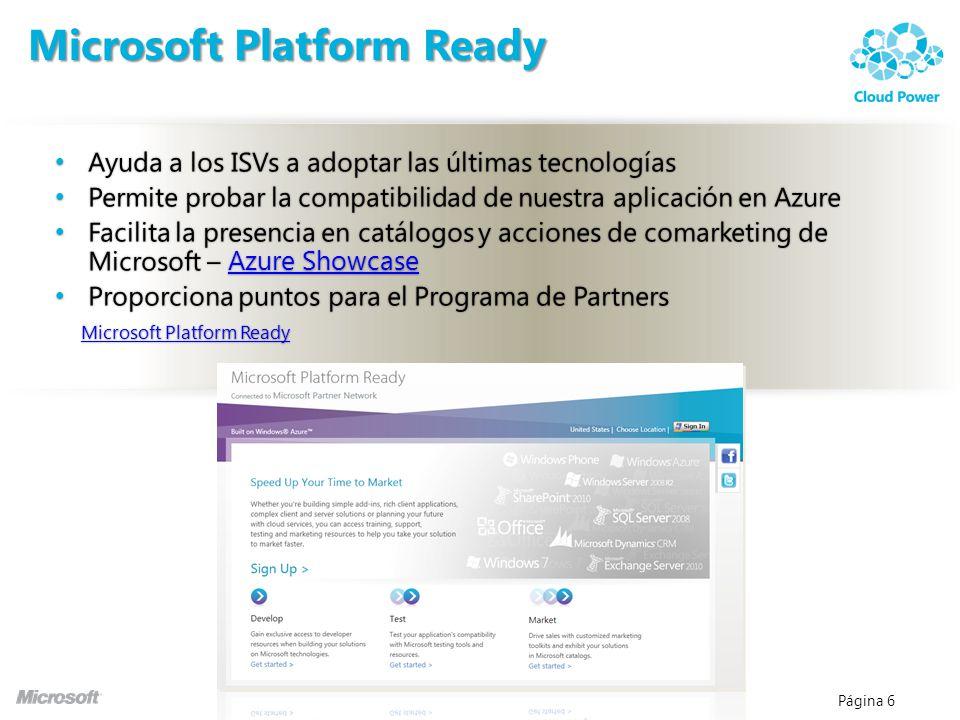 Microsoft Platform Ready