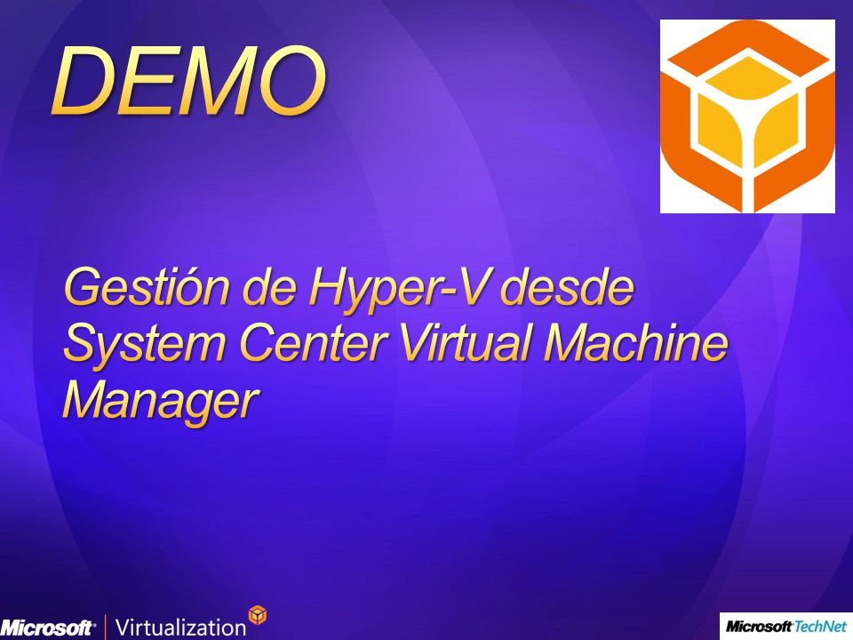 Gestión de Hyper-V desde System Center Virtual Machine Manager