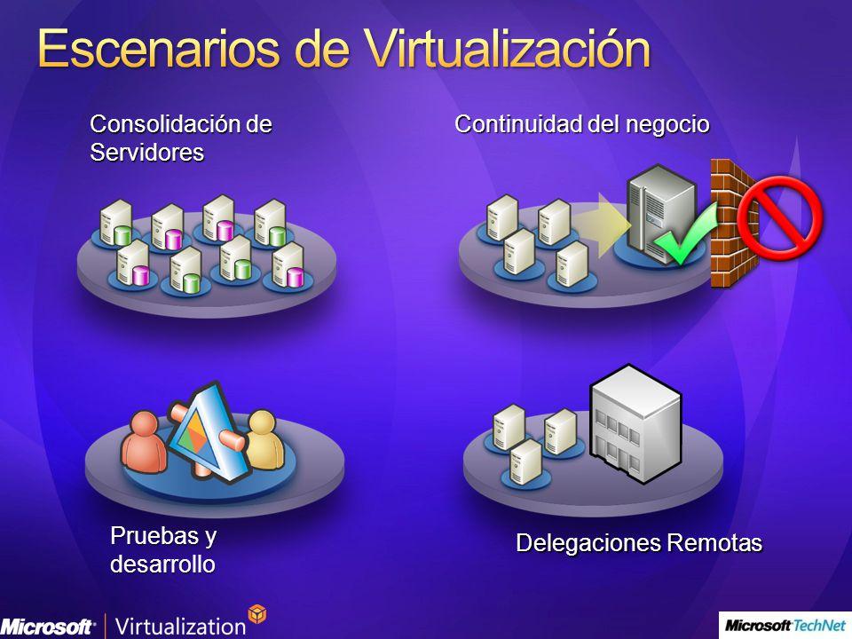 Escenarios de Virtualización