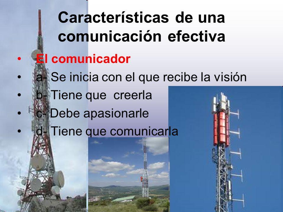 Características de una comunicación efectiva