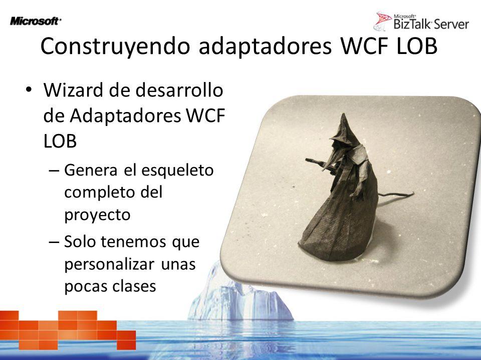 Construyendo adaptadores WCF LOB