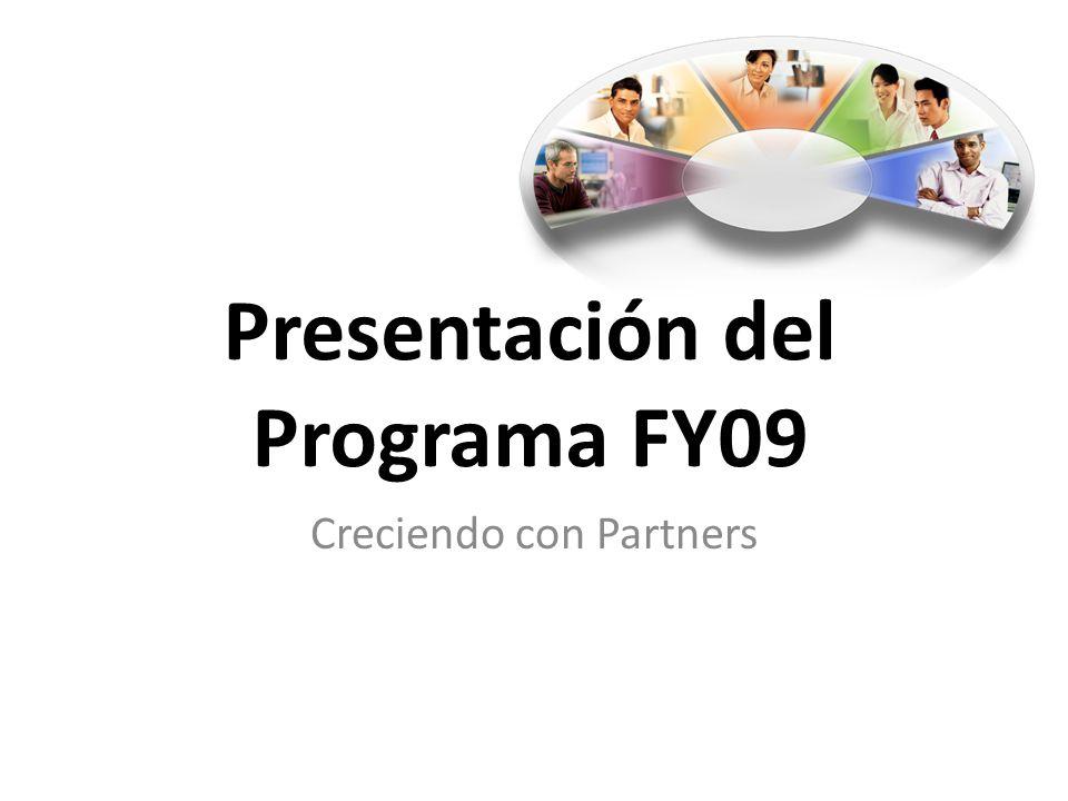 Presentación del Programa FY09