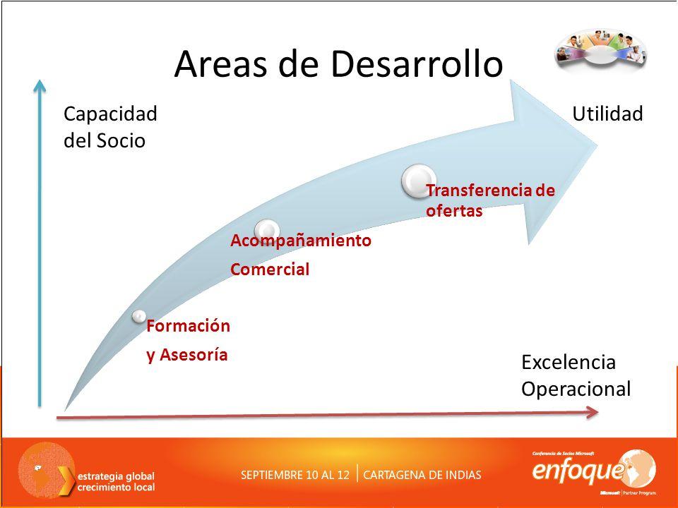 Areas de Desarrollo Capacidad del Socio Utilidad Excelencia