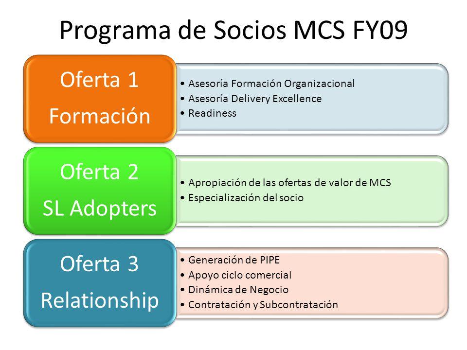 Programa de Socios MCS FY09