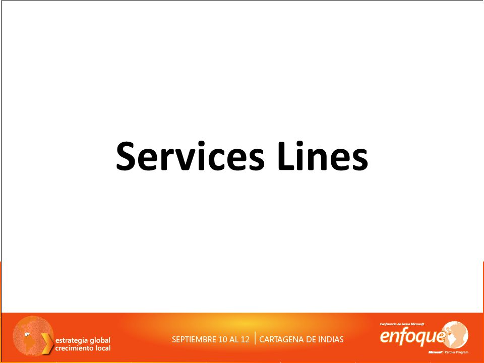 Services Lines
