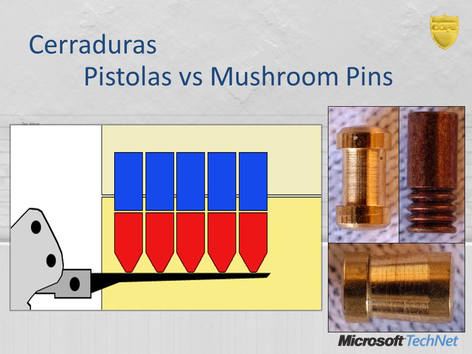 Pistolas vs Mushroom Pins