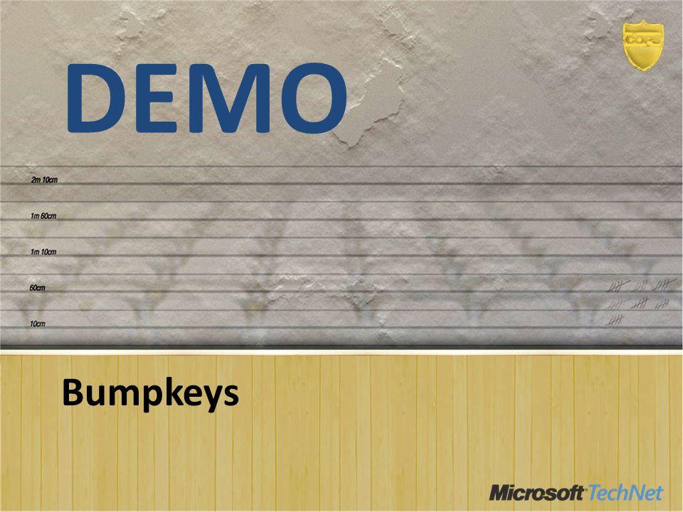 DEMO Bumpkeys