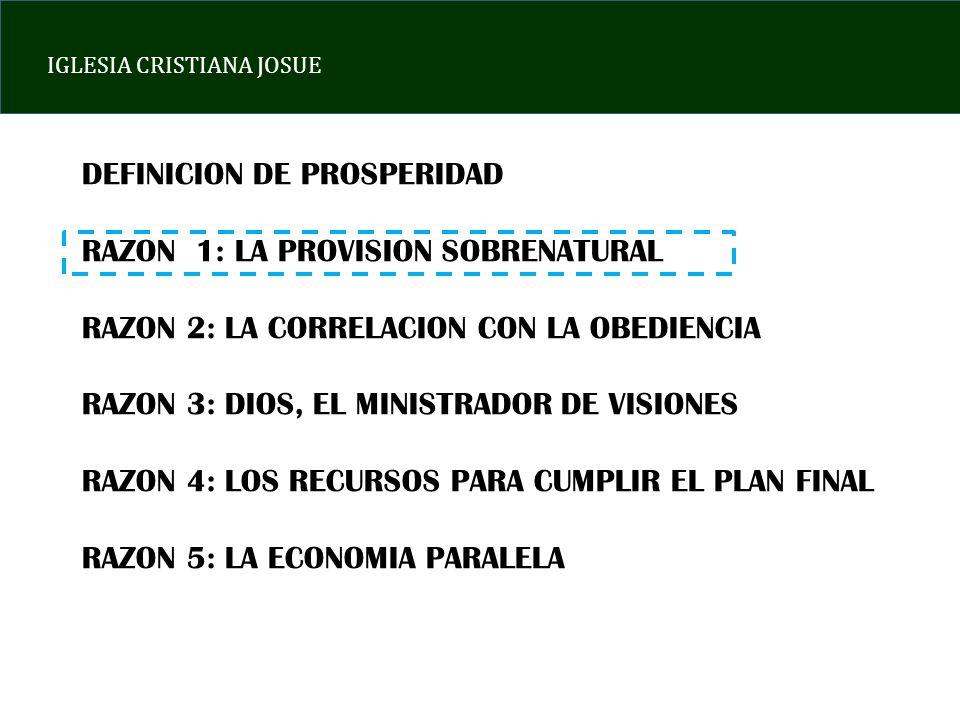 DEFINICION DE PROSPERIDAD