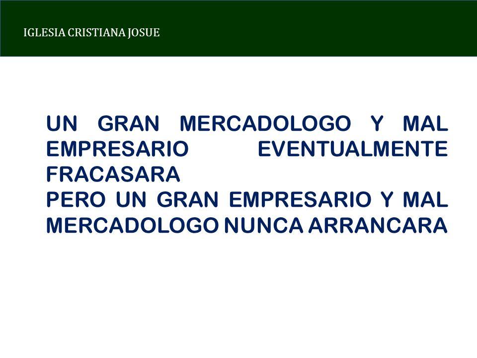 UN GRAN MERCADOLOGO Y MAL EMPRESARIO EVENTUALMENTE FRACASARA