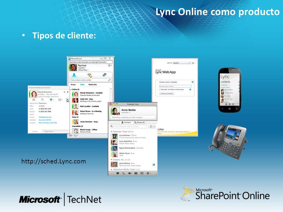 Lync Online como producto