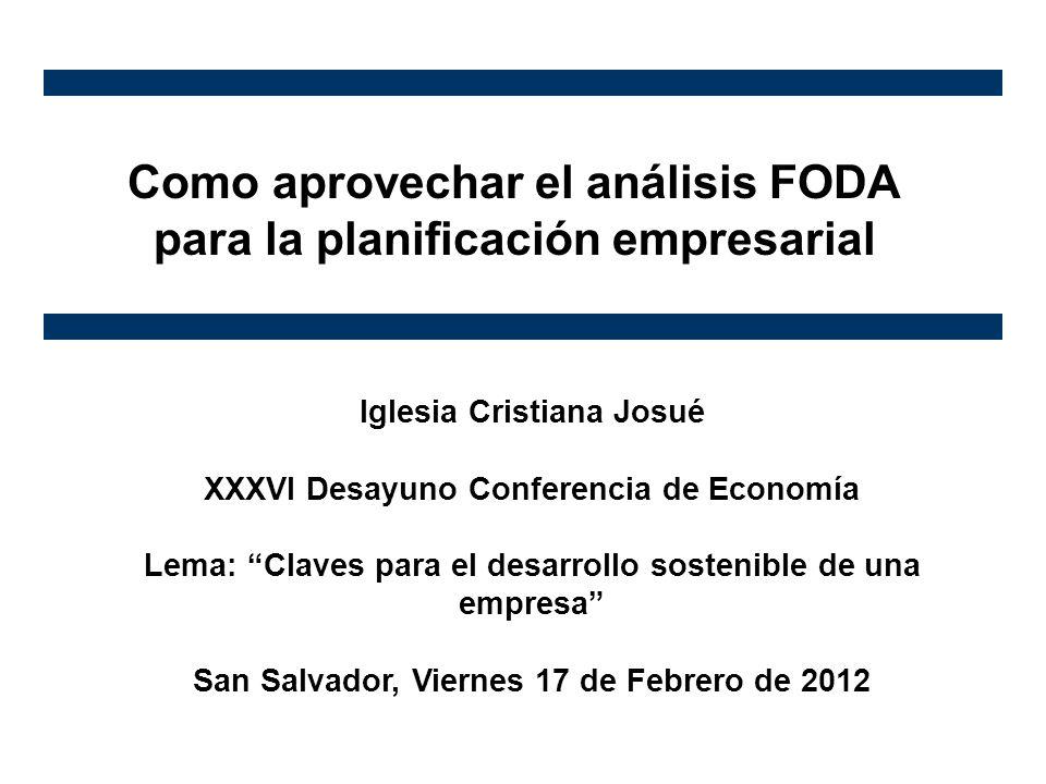 Como aprovechar el análisis FODA para la planificación empresarial