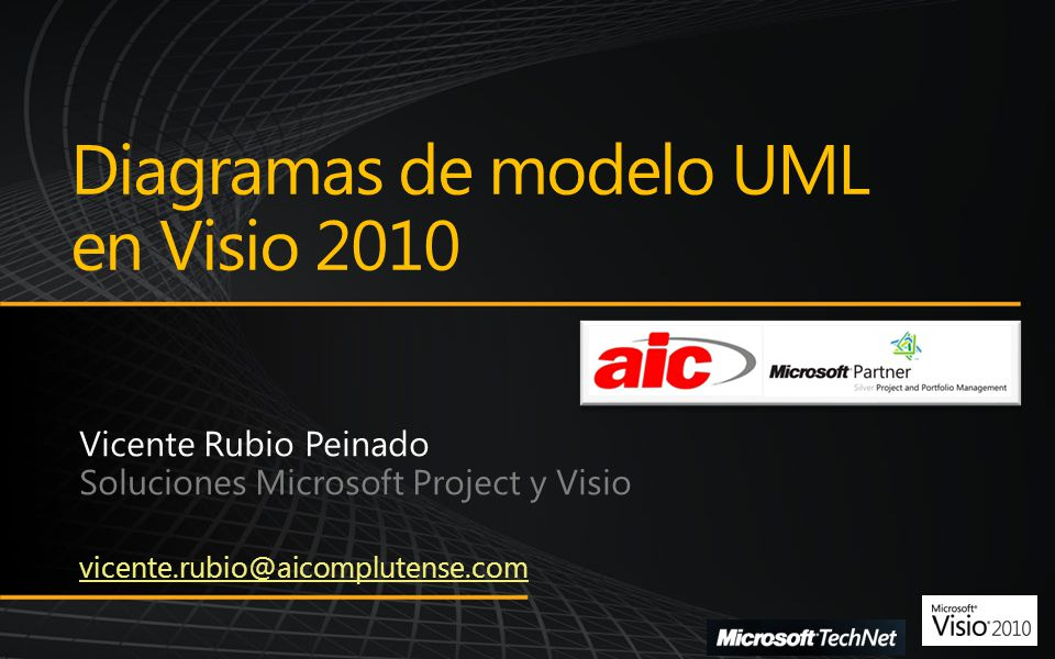 Diagramas de modelo UML en Visio 2010