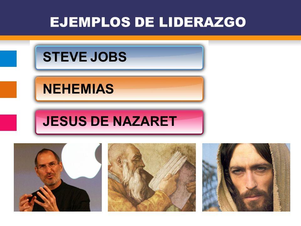 EJEMPLOS DE LIDERAZGO STEVE JOBS NEHEMIAS JESUS DE NAZARET 5