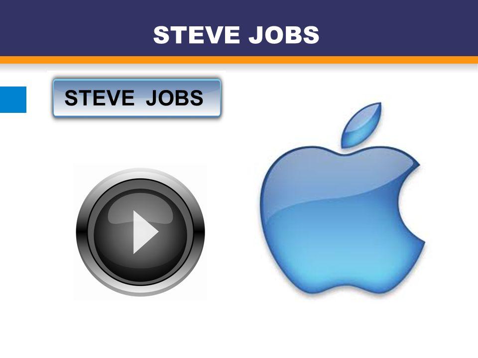 STEVE JOBS STEVE JOBS 7