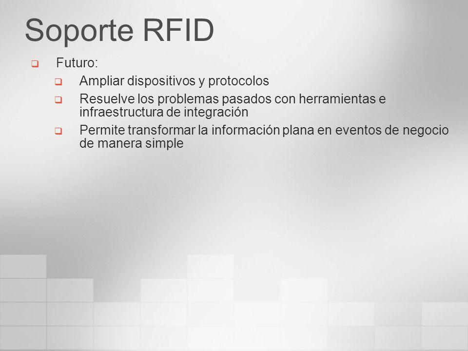 Soporte RFID Futuro: Ampliar dispositivos y protocolos