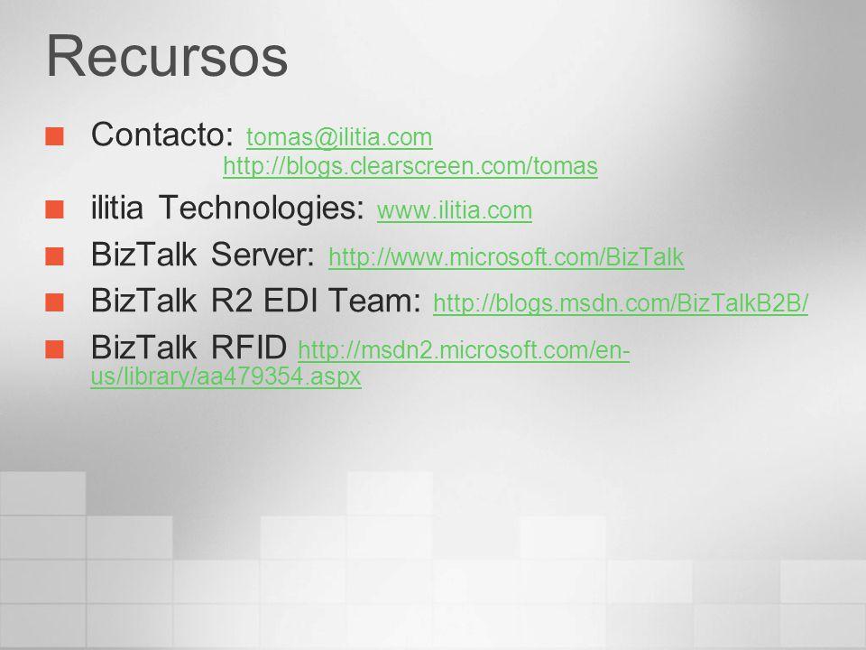 Recursos Contacto: tomas@ilitia.com http://blogs.clearscreen.com/tomas
