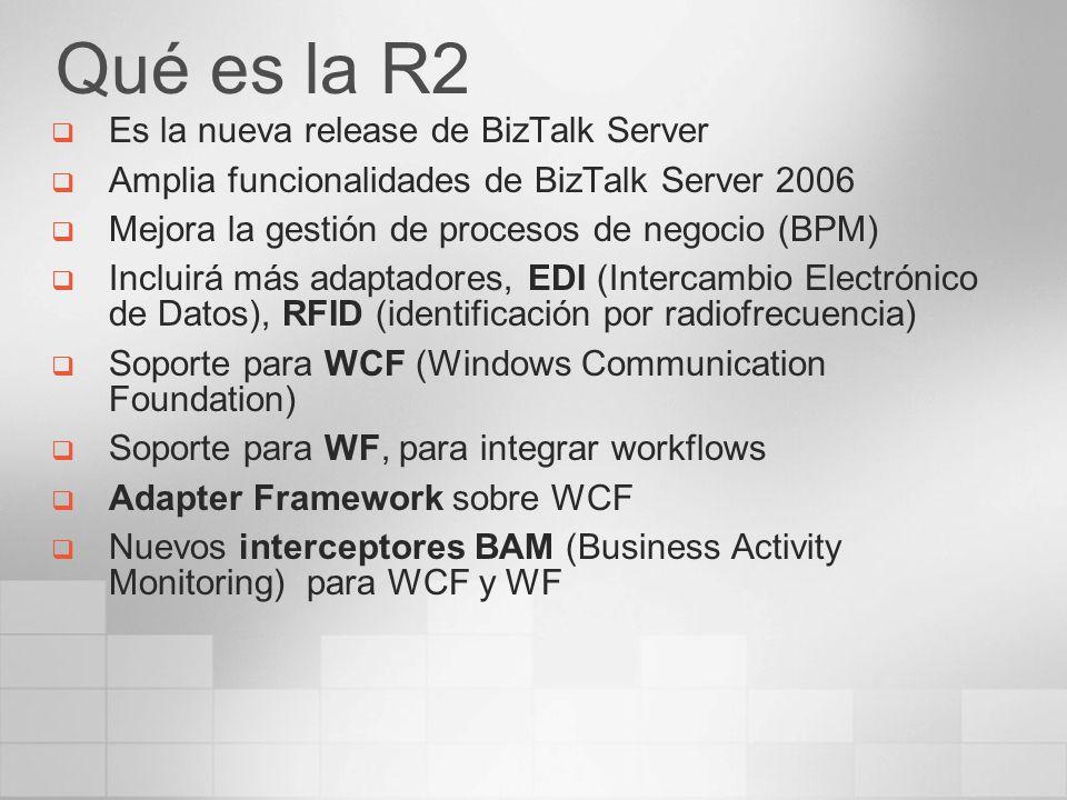 Qué es la R2 Es la nueva release de BizTalk Server