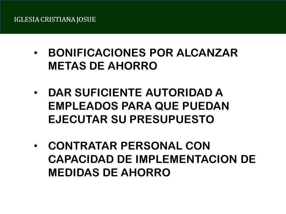 BONIFICACIONES POR ALCANZAR METAS DE AHORRO