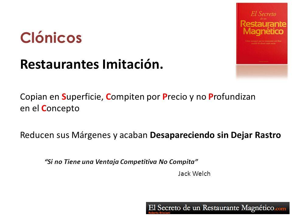 Restaurantes Imitación.