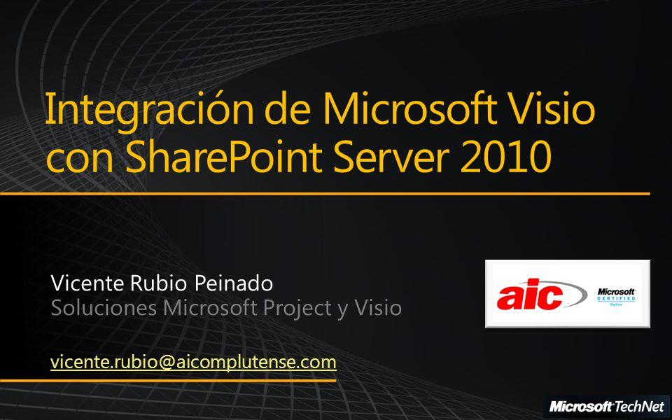 Integración de Microsoft Visio con SharePoint Server 2010