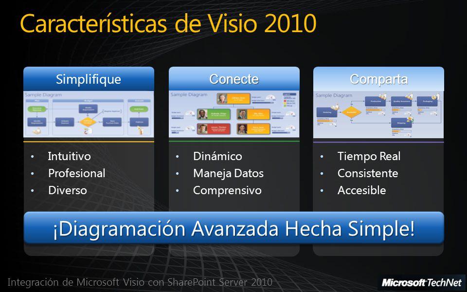 Características de Visio 2010
