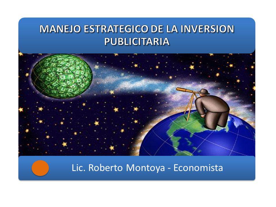 MANEJO ESTRATEGICO DE LA INVERSION PUBLICITARIA