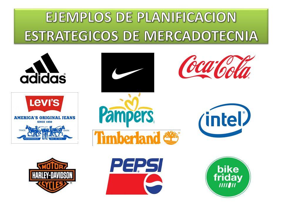 EJEMPLOS DE PLANIFICACION ESTRATEGICOS DE MERCADOTECNIA