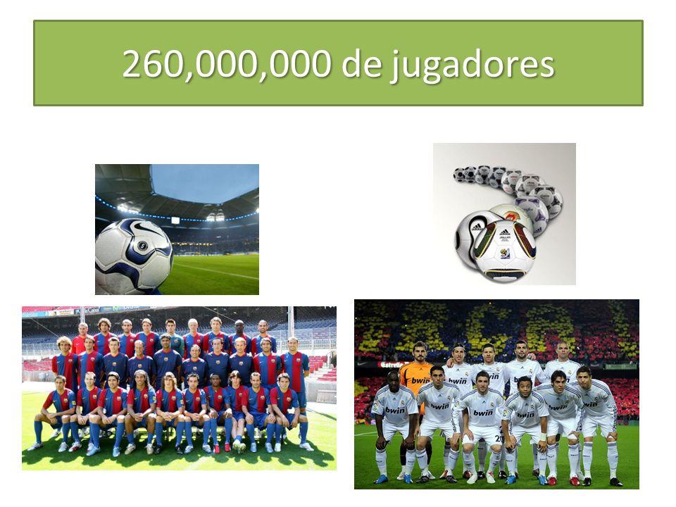 260,000,000 de jugadores