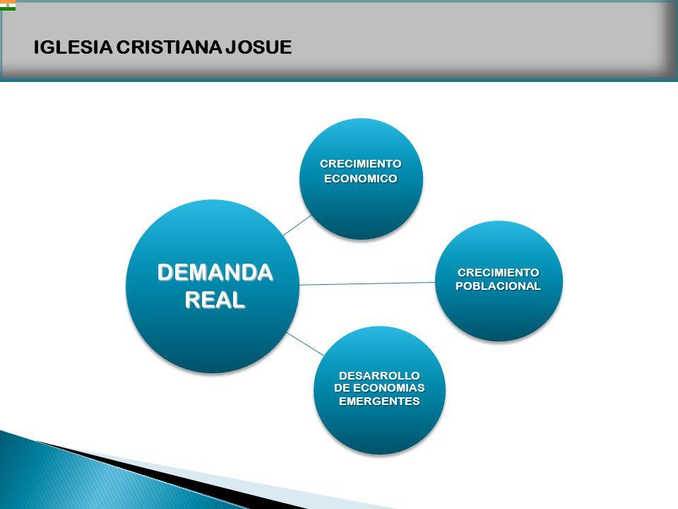 DEMANDA REAL CRECIMIENTO ECONOMICO DESARROLLO DE ECONOMIAS EMERGENTES