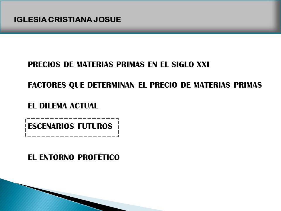 PRECIOS DE MATERIAS PRIMAS EN EL SIGLO XXI
