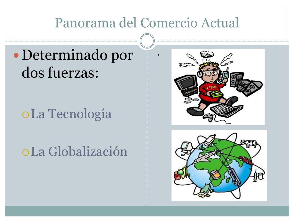 Panorama del Comercio Actual