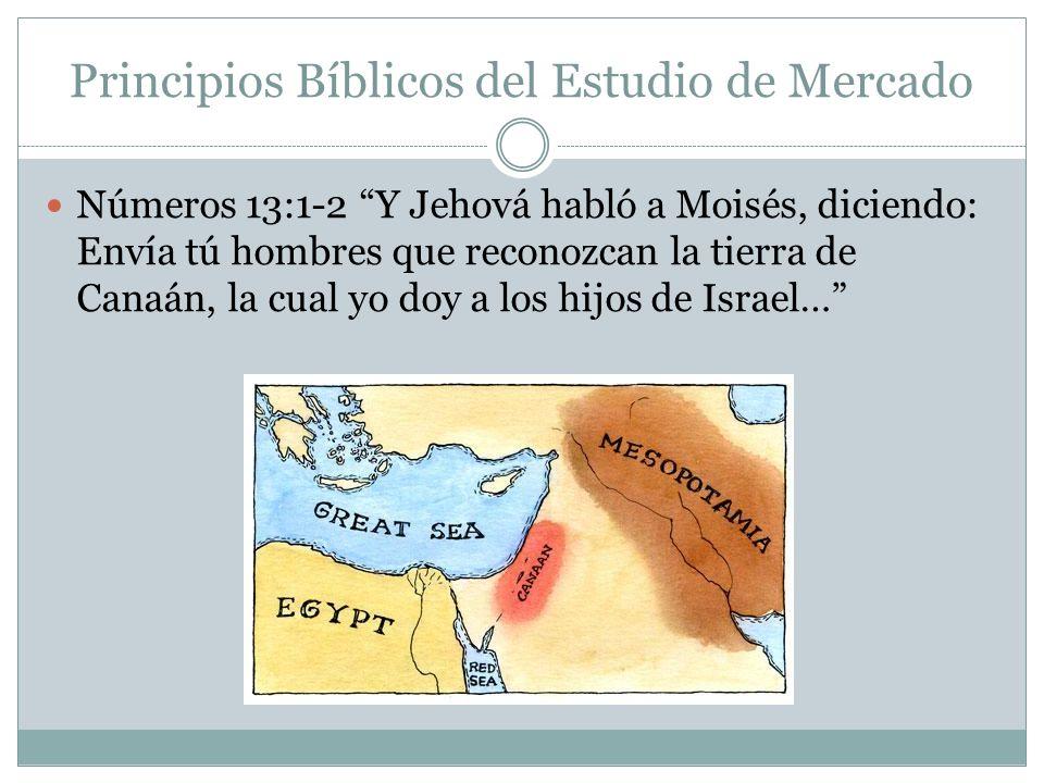 Principios Bíblicos del Estudio de Mercado