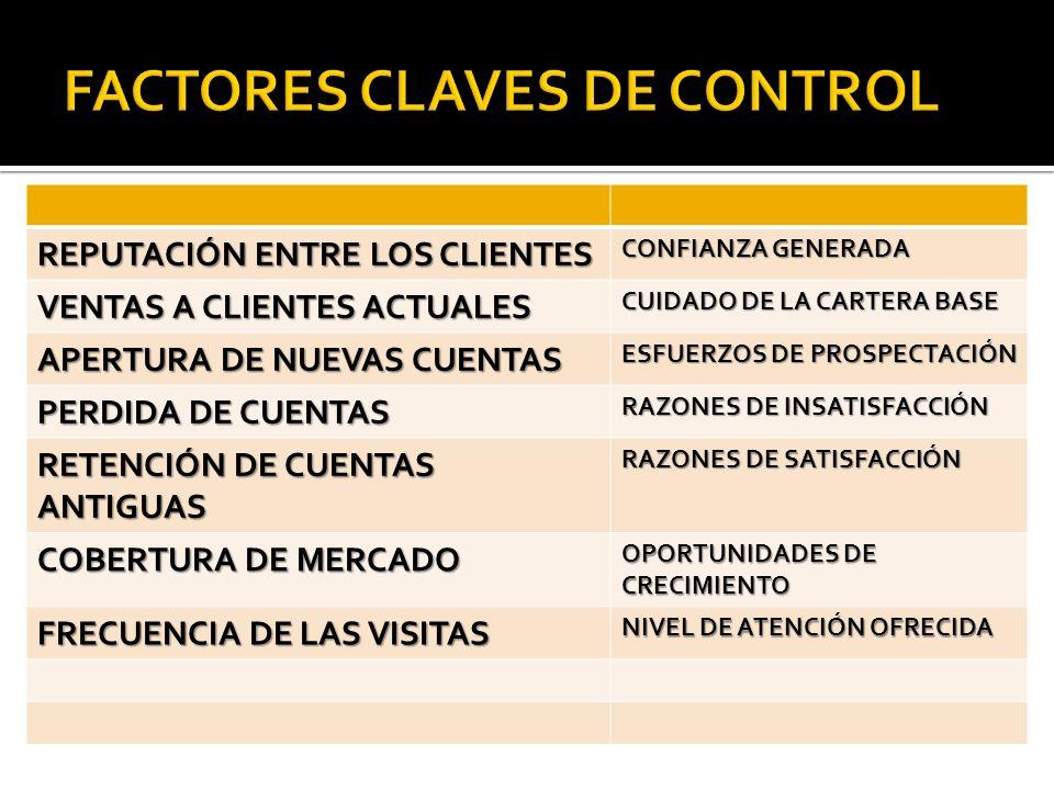 FACTORES CLAVES DE CONTROL