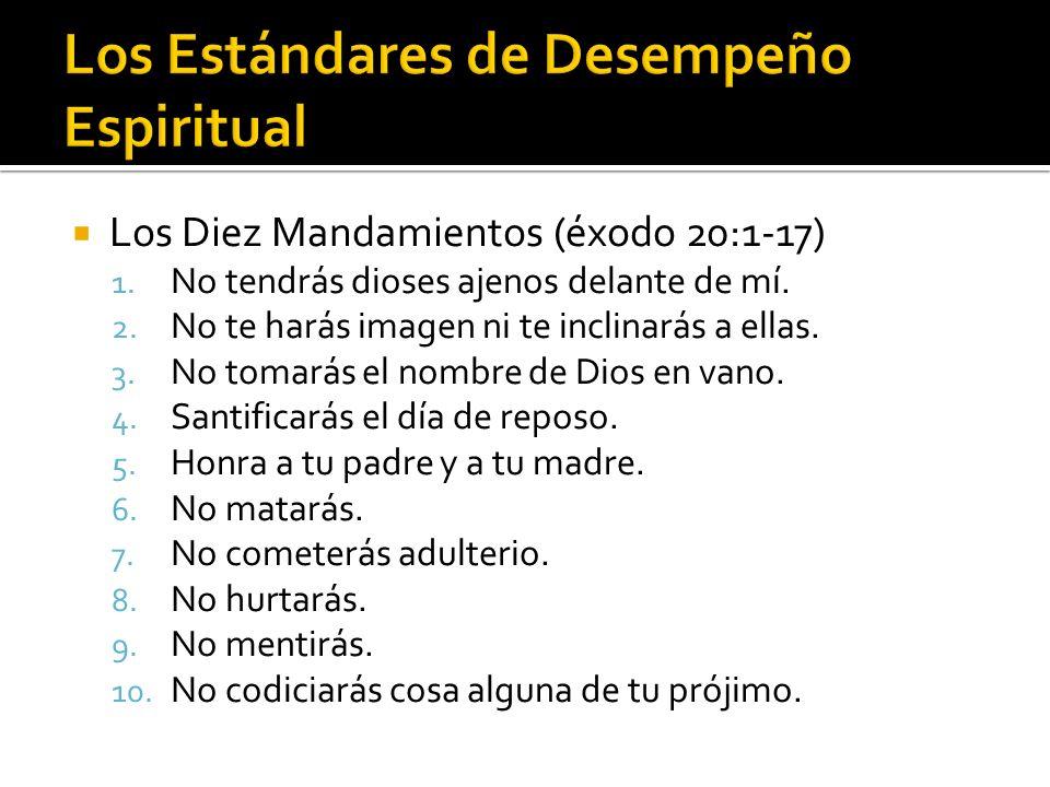 Los Estándares de Desempeño Espiritual