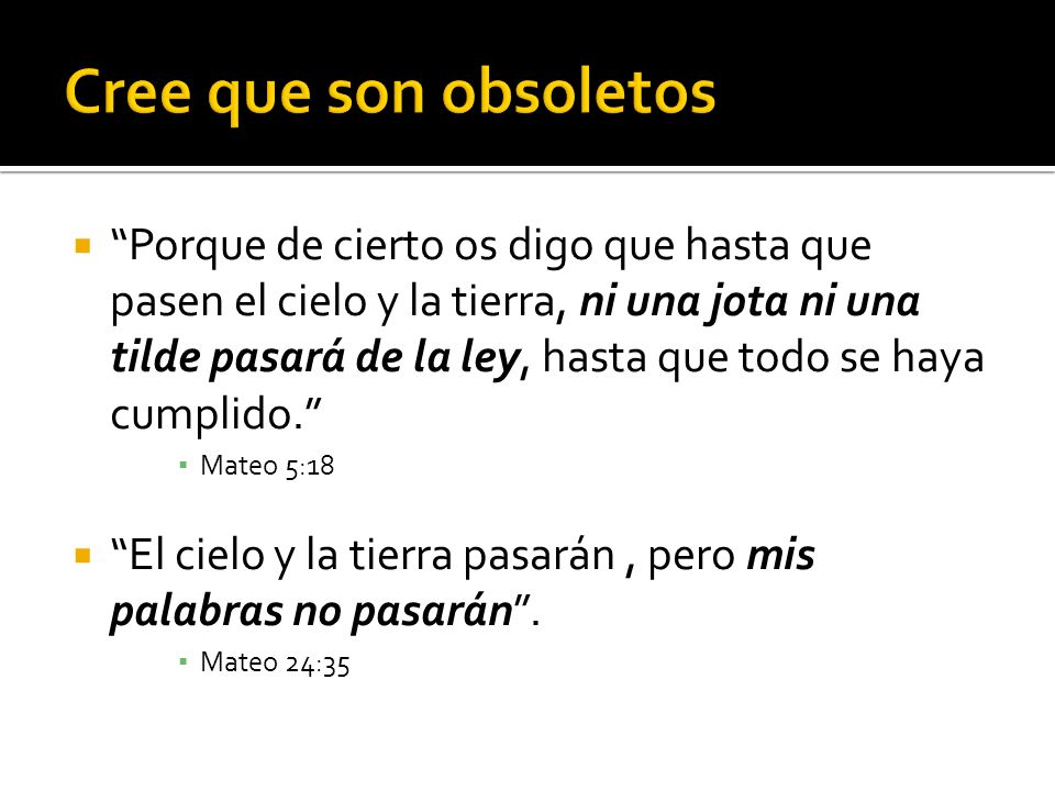 Cree que son obsoletos