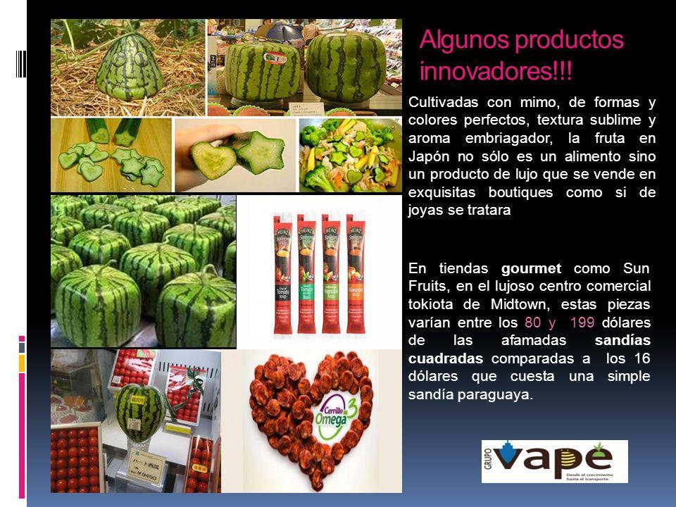 Algunos productos innovadores!!!