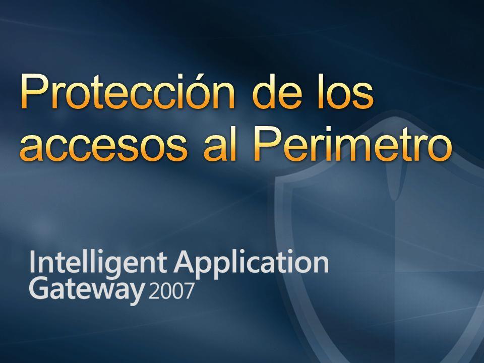 Protección de los accesos al Perimetro