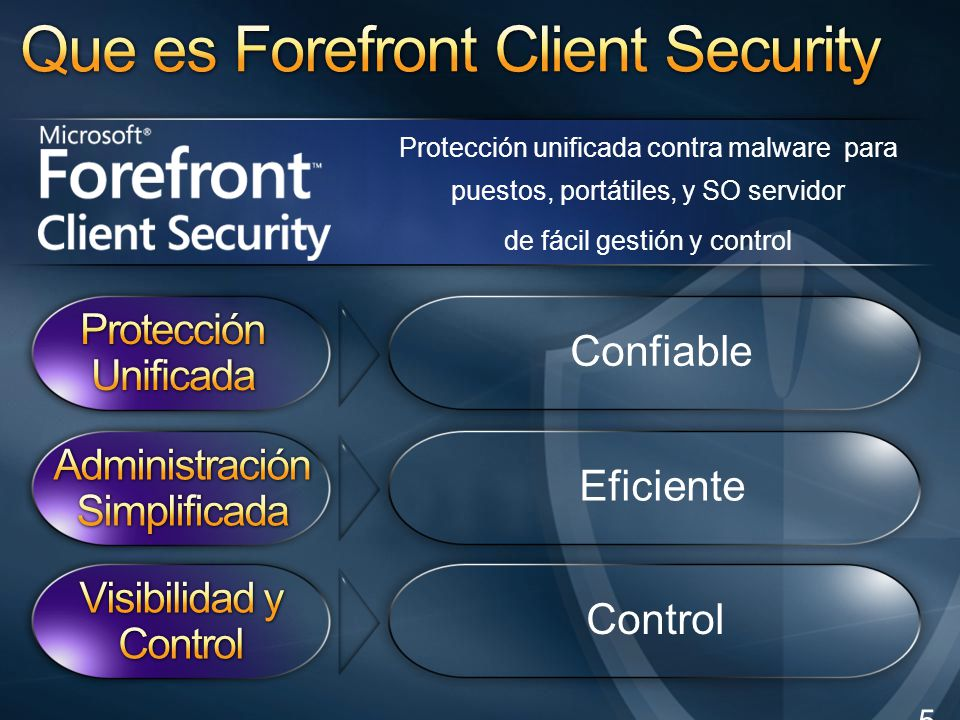Que es Forefront Client Security