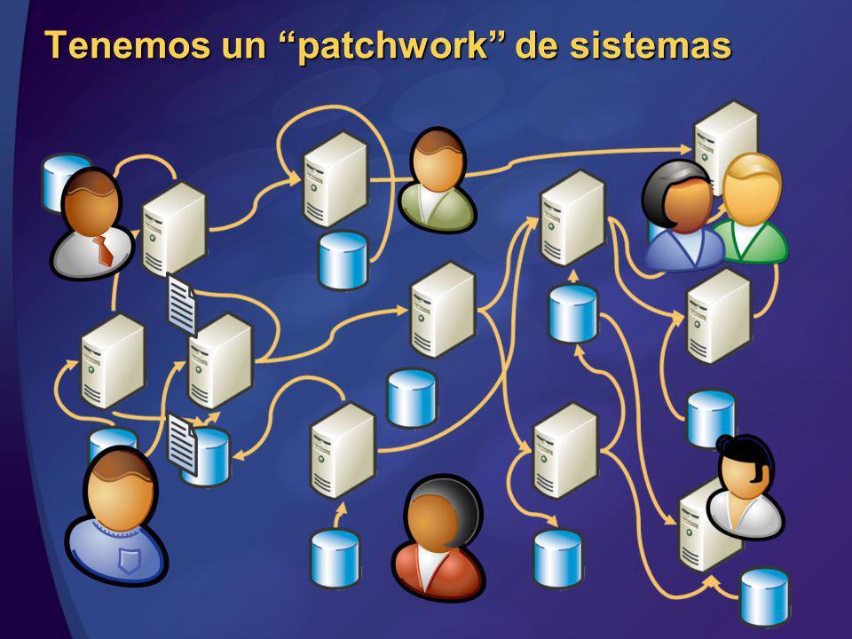Tenemos un patchwork de sistemas