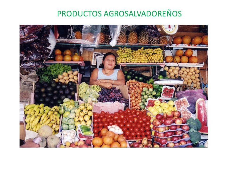 PRODUCTOS AGROSALVADOREÑOS