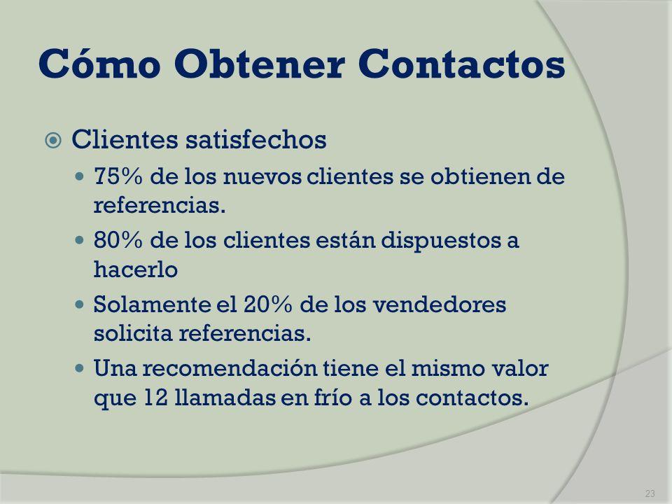 Cómo Obtener Contactos