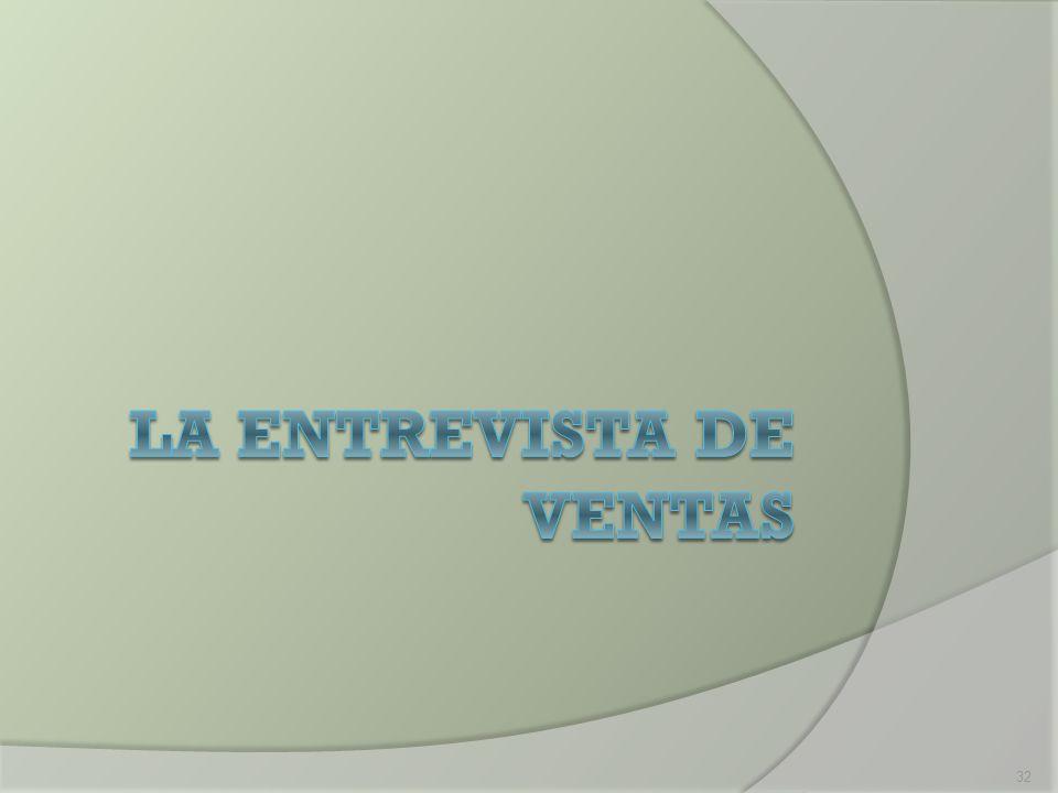 La Entrevista de Ventas