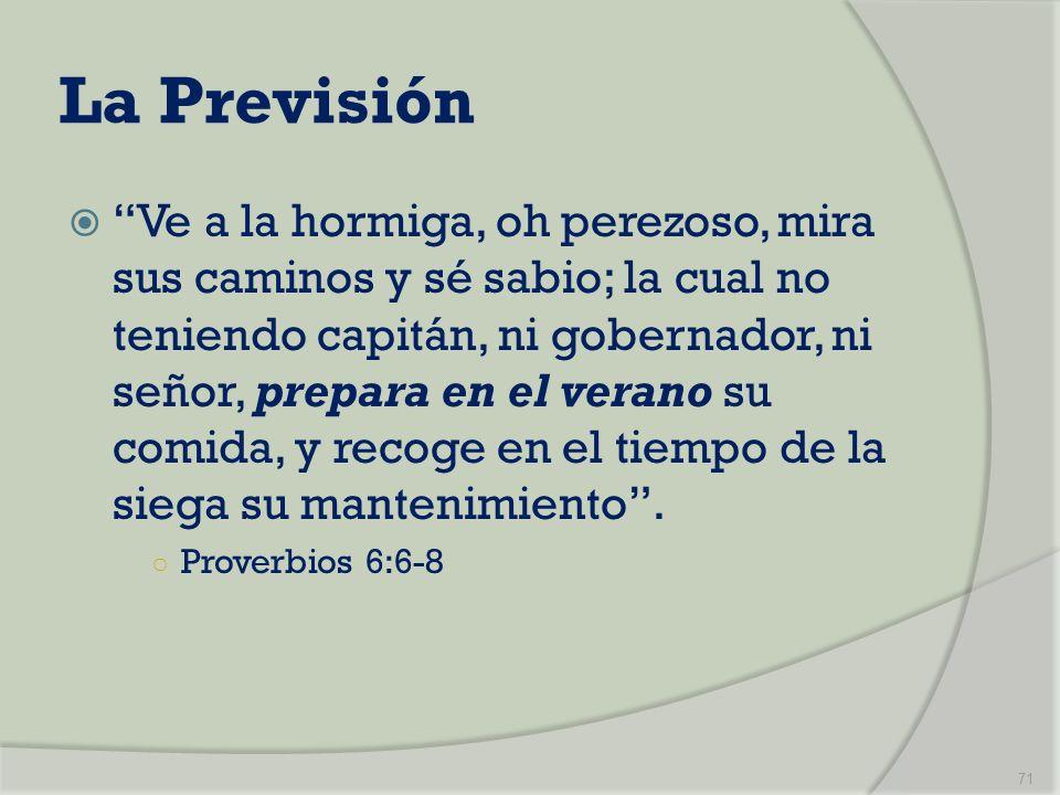 La Previsión