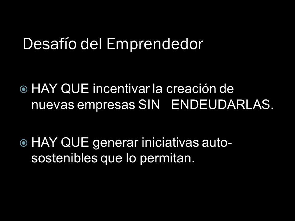 Desafío del Emprendedor