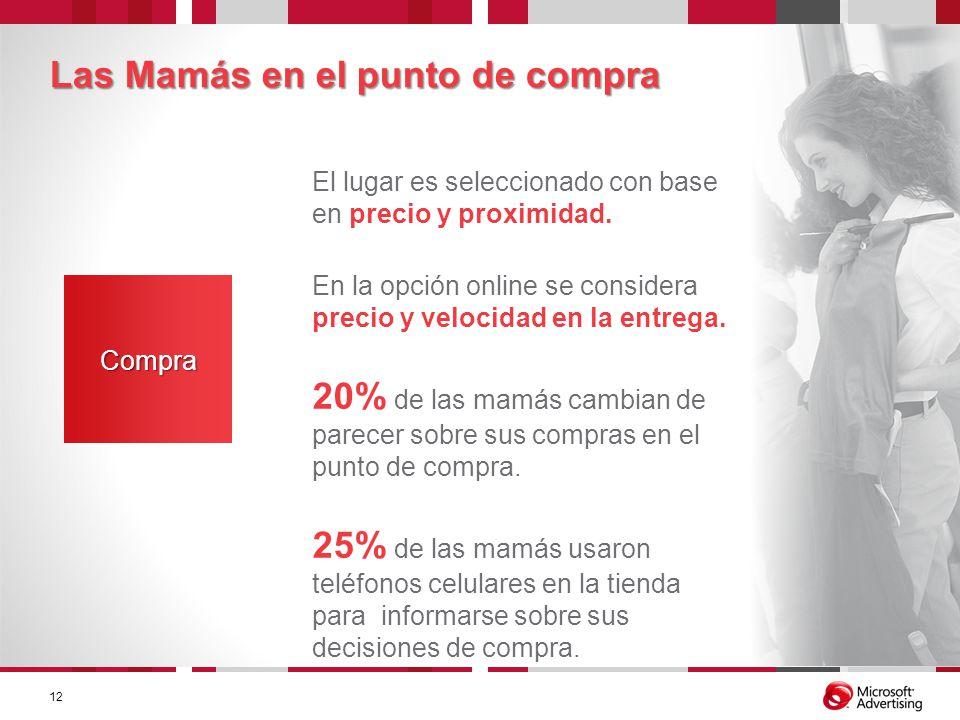 Las Mamás en el punto de compra